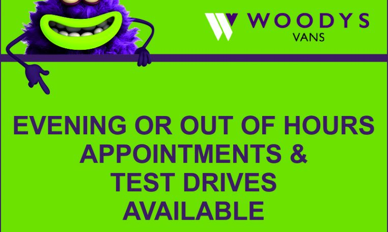 Evening or out of hours test drives available